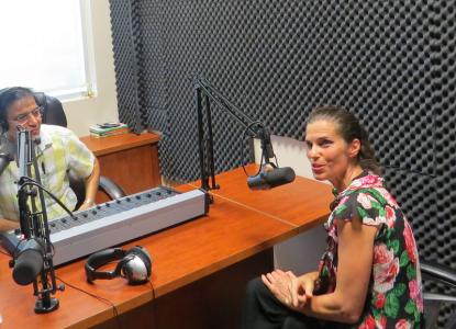 Kirsty Duncan in Parvasi Radio