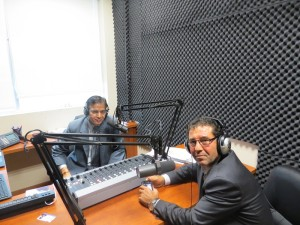 Mr. Pat Fortini in Parvasi Radio