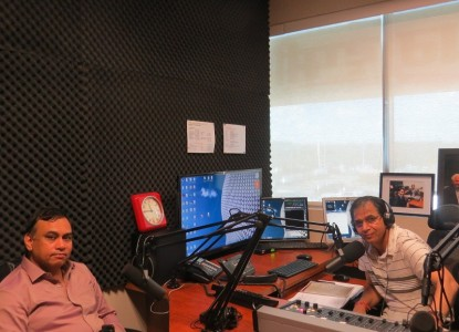 ABP CEO Mr. Ashok Venkatramani in Parvasi Radio