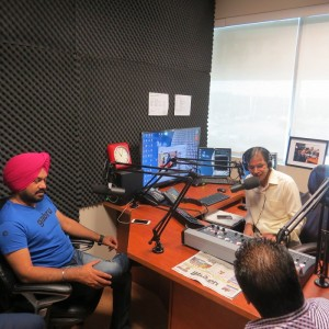 Gurpreet Ghuggi in Parvasi Radio