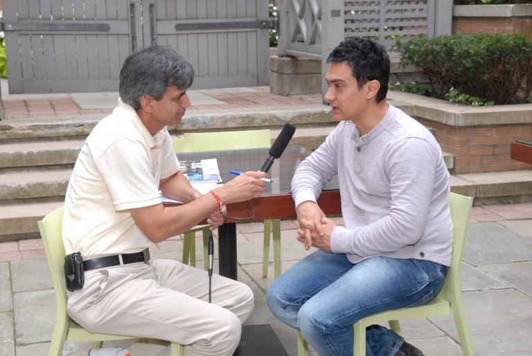 Amir Khan in Parvasi Radio