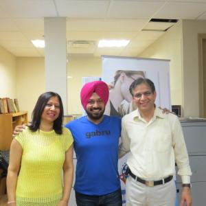 Ghuggi & Mr&Mrs Saini in Parvasi Studio