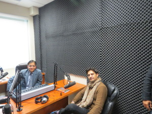 Jimmy Shergil in Parvasi Studio