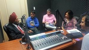 Mr. Milkha Singh in Parvasi Radio