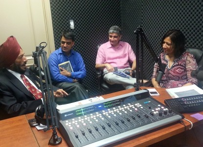 Mr. Milkha Singh in Parvasi Radio