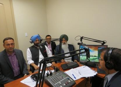 Sukhpal Khera in Parvasi Studio