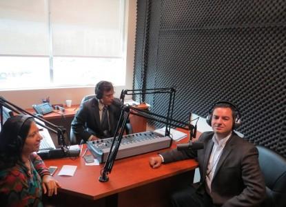 Martin Medeiros in Parvasi Radio