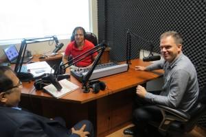 Mark Holland in Parvasi Radio