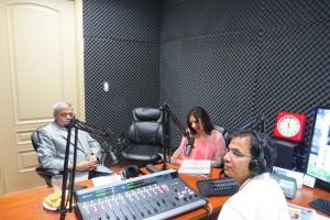 R K Garg in Parvasi Radio