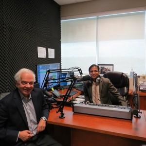 Immigration Minister Mr. John in Parvasi Radio