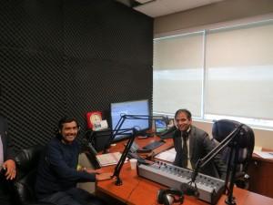 Master Chef Sanjeev Kapoor in Parvasi Radio